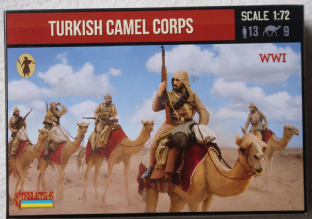 Strelets 1/72 ST0167 Turkish Camel Corps (WW1)